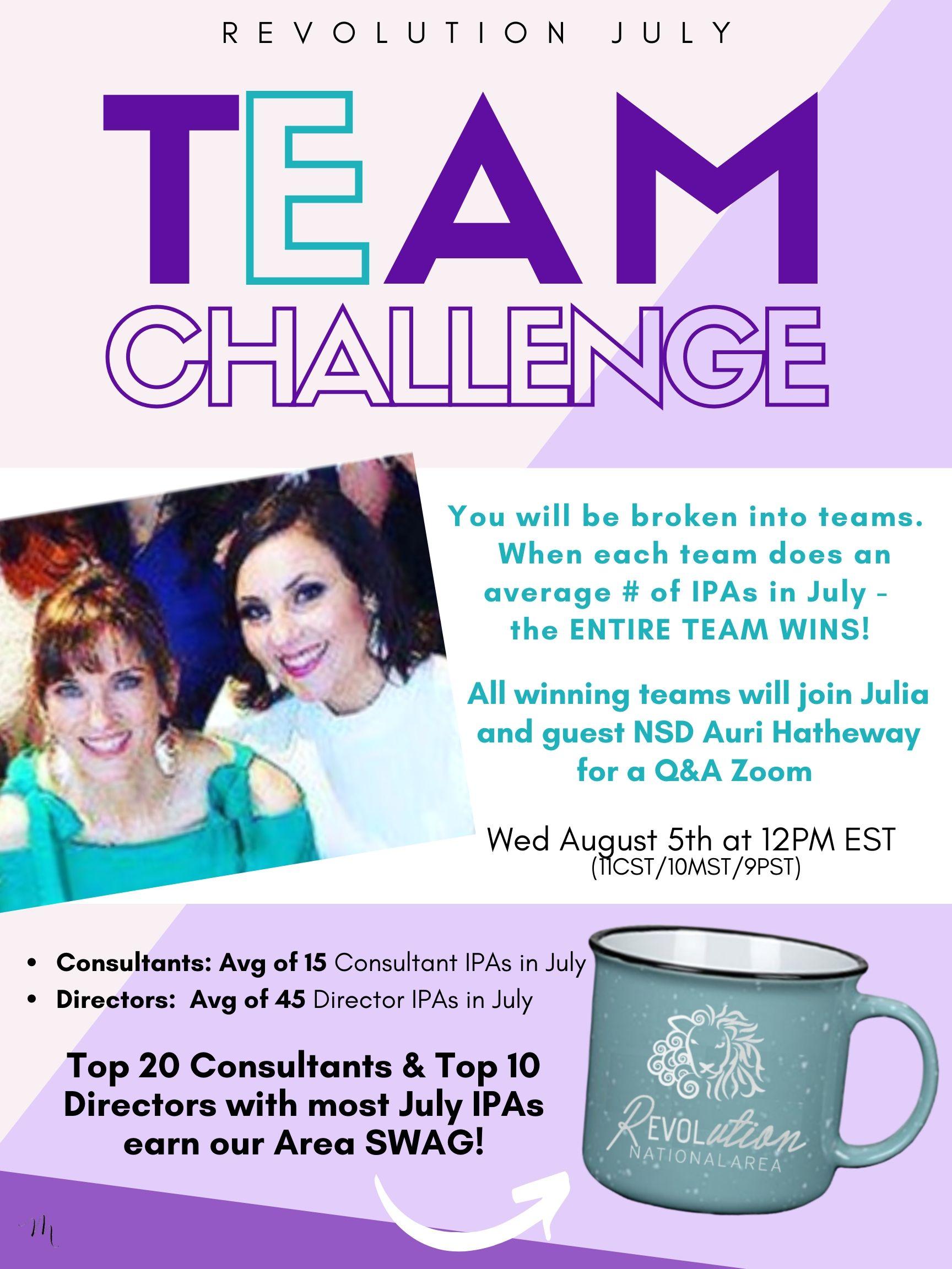 2 Team Challenge